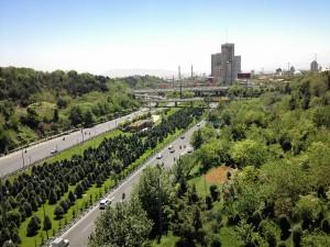 تهران در بهار