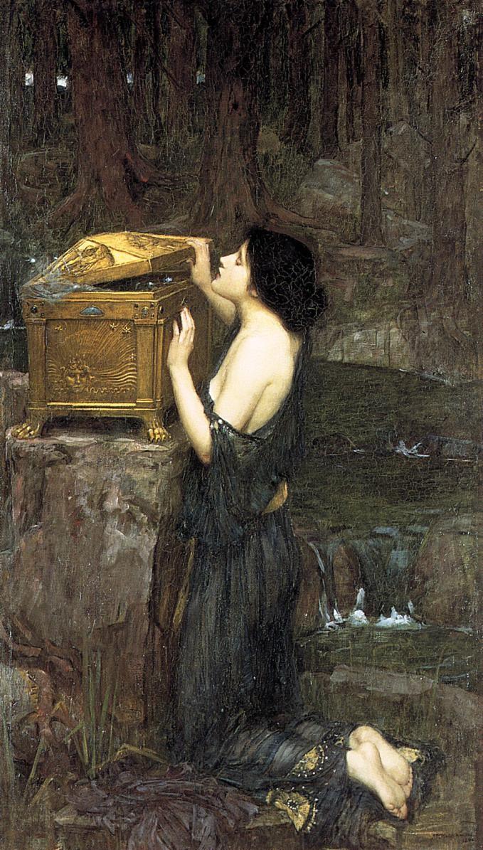 پاندورا اثر جان ویلیام