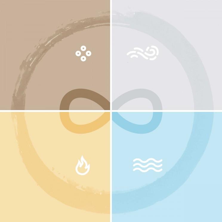 کارگاه درونگردی بر اساس چهار عنصر (باد، آب، آتش و خاک)