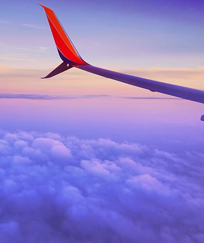 نمایی از هواپیما