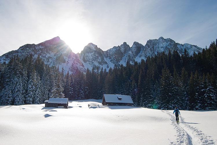 قدم زدن در برف