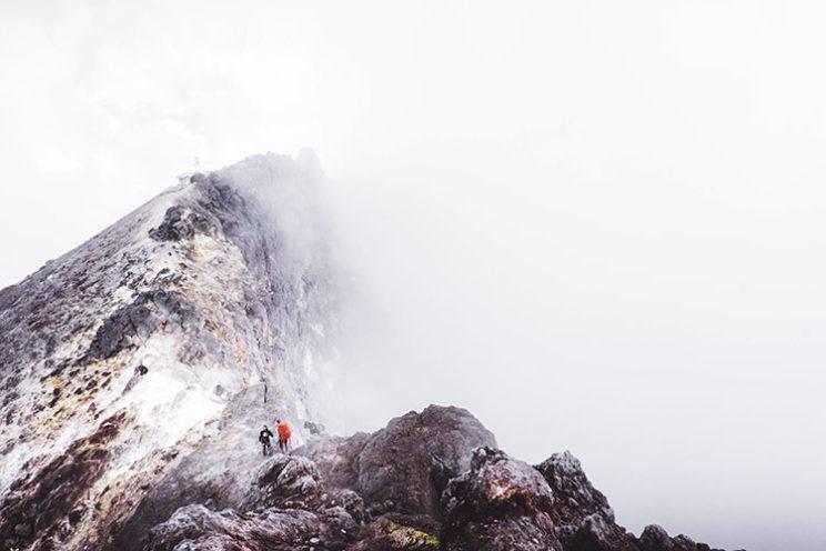 در مسیر سعود به قله