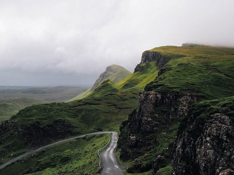 مسیر کوهستانی