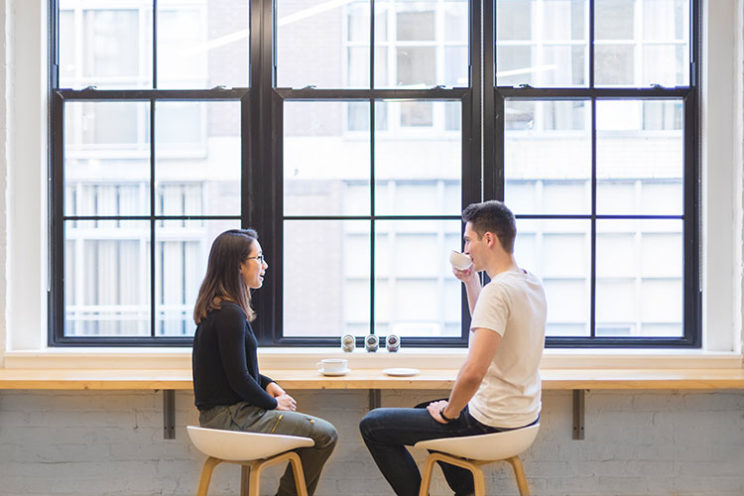 گفتوگو همراه با قهوه