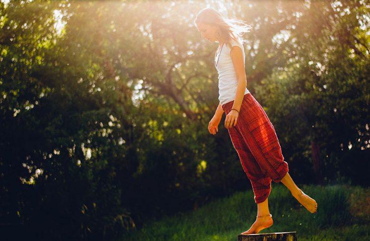 ایستادن در حالت تعادل