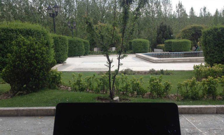 شروع سایت قدم زدن در باغ عدن